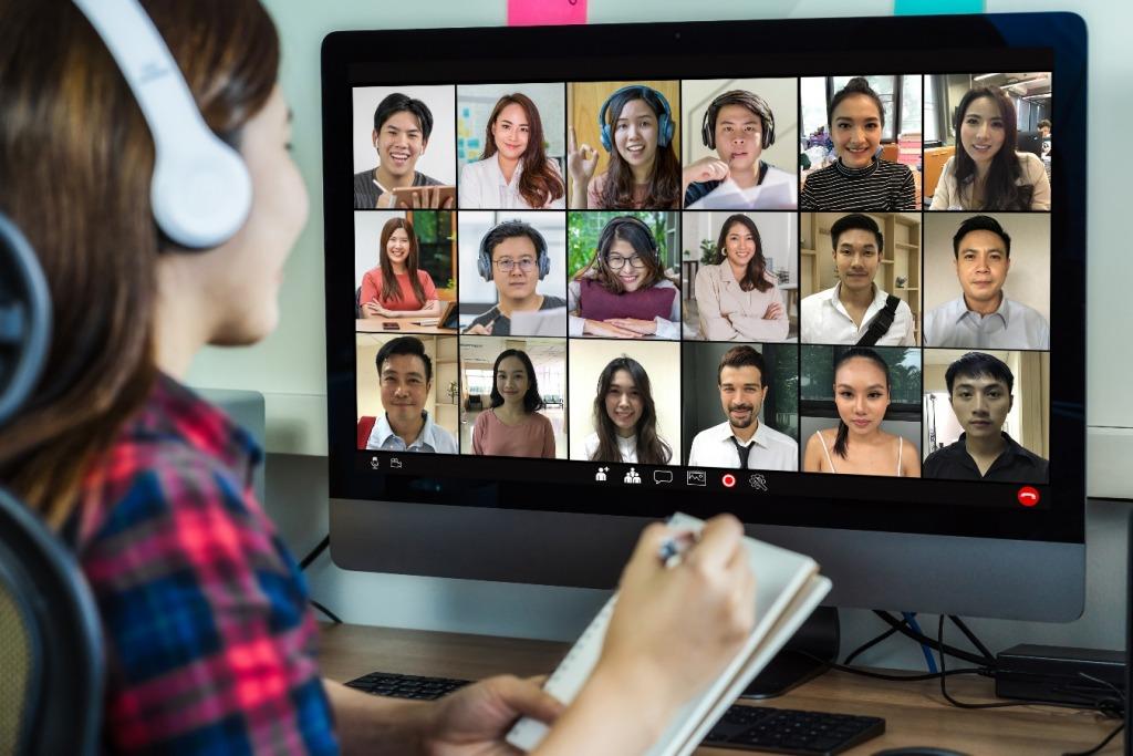 virtual presentation skills class